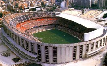 Camp Nou Rénovations en 1982